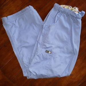 Koi Lindsey Drawstring Cargo Scrub Pants, sz MPet